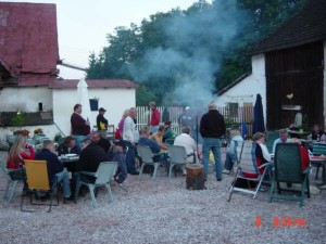 Camping for Opzetzwembad hout